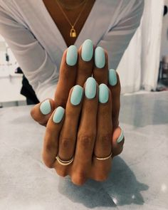 """Our new favorite nude is called """"Volume IV"""" Our new favorite nude is called Vol. Our new favorite nude is calle. Light Colored Nails, Light Nails, Cute Nails, Pretty Nails, My Nails, Oval Nails, Fall Nail Colors, Nail Polish Colors, Green Nail Polish"""