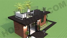 Shipping Container Studio Apartment 20 Ft Container Tiny Home Design and Floor Plan The Study Studio Container Home Tiny Home Floor Plans Shipping Container Home Designs, Container House Plans, Container House Design, Tiny House Design, Tiny House Luxury, Shipping Containers, Studio Apartments, Ideas Cabaña, Urban Apparel