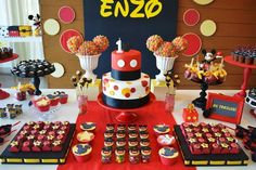 mickey mouse clubhouse party ideas 1st birthday - Google Search