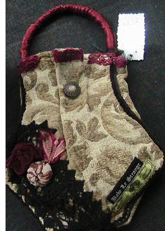 Pattern For Carpet Bag Victorian Shabby Chic Mary Poppins