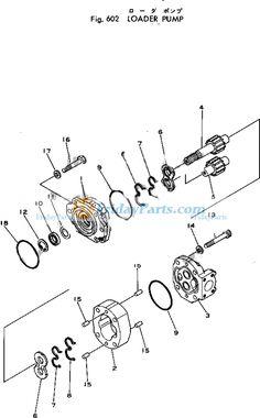 Hydraulic Pump 262-5203 for Caterpillar CAT TH460B TH560B