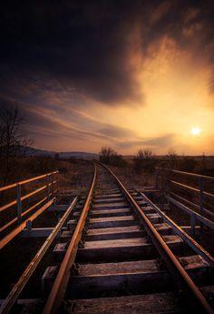 runaway trails - abadoned railway in Slovakia