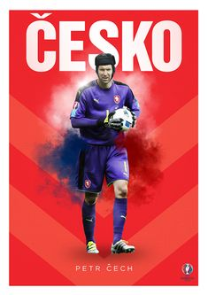 UEFA EURO 2016 Poster Collection- Minimimalist/Retro Style by Rom Cruz