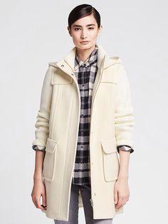 Holiday 2014- Duffle Sweater Coat