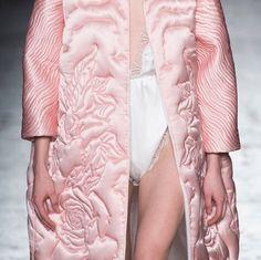 statement pink coat