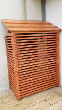 realisation un cache pour moteur ext de clim terrasse pinterest cacher astuces. Black Bedroom Furniture Sets. Home Design Ideas
