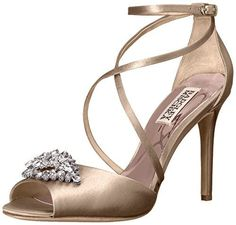 Looking for Badgley Mischka Women's Tatum Dress Sandal ? Check out our picks for the Badgley Mischka Women's Tatum Dress Sandal from the popular stores - all in one. Badgley Mischka Shoes, Lace Up Ankle Boots, Peep Toe Heels, Bridal Shoes, Bridal Gown, Dress Sandals, Cowgirl Boots, Womens High Heels, Girls Shoes
