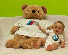 The BMW logo nuk or pacifier. #bmwbaby | BMW baby things ...
