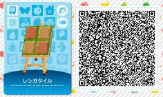 ☆ Some useful QR codes for walls, floors and roof. I can't find that many QR codes for HHD, so I'm posting a bunch of mine. Brick Patterns, Wall Patterns, Steven Universe, Acnl Qr Code Sol, Acnl Paintings, Qr Code Animal Crossing, Acnl Paths, Motif Acnl, Buffet Set