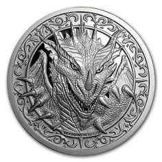2 oz Silver Round - Destiny Knight : The Dragon Silver...