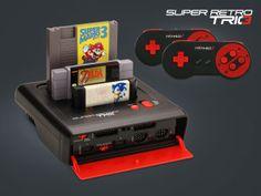 Die Retro Konsole (3in1 für alle Gaming Freaks!  #Gaming #Zocker #Nintendo #Retro #Devallor #Gadgets #GeschenkiddeenFürMänner #Männerzeugs