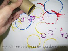 circle art for toddlers