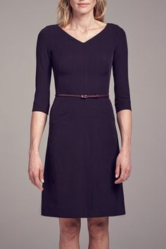 Ready for the Alexandra dress? A new spin on the familiar Etsuko, this A-line, belted beauty will soon become your new work wardrobe staple.