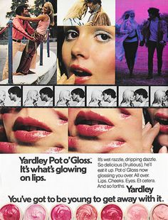 May 1971.'It's wet razzle, dripping dazzle. So... - Just Seventeen