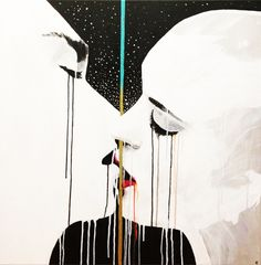 Painting | The Kiss © by Aleka www.aleka.es