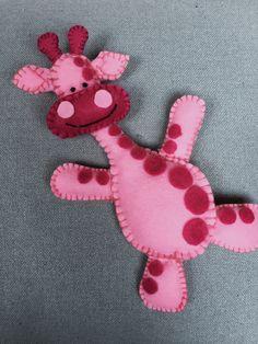 Giraffe van vilt DIY