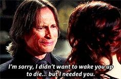 I think he realized that Lacey was bringing the bad out in him. He realized he needed his Belle. :'(   .....rh