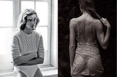 Images via Pinterest,Vogue France, Industrie Magazine NAKEDOffthe coats, underneath the …