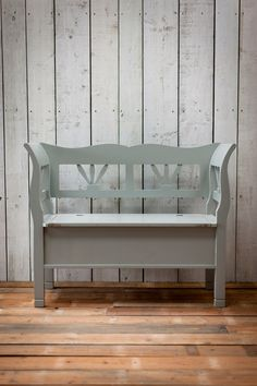Hungarian Storage Settle Bench  in Small