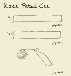 DIY: rose petal tee