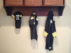 This is how my cousin just announced on Facebook how she's having a baby! Three Iowa Hawkeye Jerseys! So insanely cute!!!