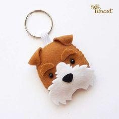 Apostila Digital - Fox Terrier - Cachorrinho em feltro Pocket fácil confecção