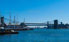 Brooklyn Bridge ...  Brooklyn Bridge, East River, america, architecture, bridge, building, historic, landmark, manhattan, new york city, nyc, old, river, travel, urban, usa