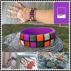 Premo, fimo, Cernit, Polymerclay bangle bracelet, duindoorn, sea buckthorn Bangle Bracelets, Bangles, Polymer Clay, Sea, Fimo, Bracelets, Bracelets, Bangle Bracelet, The Ocean