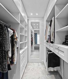 White wardrobe ideas bedroom closet design, walk in closet design, master. Walk In Closet Design, Bedroom Closet Design, Master Bedroom Closet, Closet Designs, Master Suite, Bedroom Boys, Trendy Bedroom, Bedrooms, Walking Closet
