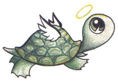 Little Turtle Fly Away by ~alora on deviantART