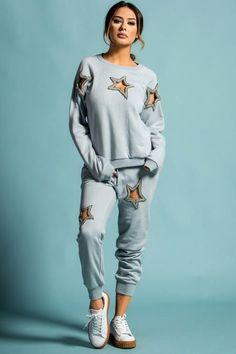 STAR CUT OUT SWEATSUIT