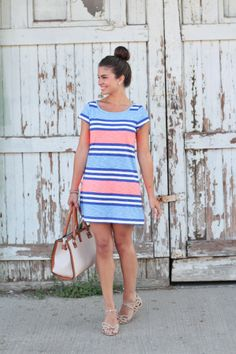 fun and playful gap dress
