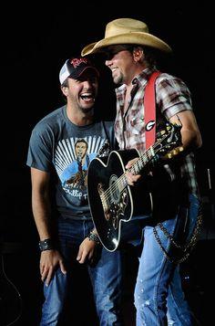 Luke Bryan and Jason Aldean:):):)