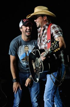 Luke Bryan and Jason Aldean.....thatd be heaven