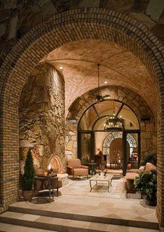 Mediterranean Villa Amazing Outdoor Space. JAUREGUI Architecture/Construction