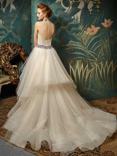 2017 Blue by Enzoani, Jiya, Available at Uptown Bridal- www.uptownbrides.com
