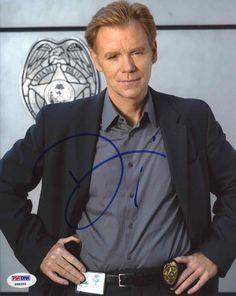 David Caruso 'CSI: Miami' Signed 8x10 Photo Certified Authentic PSA/DNA