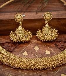 Buy Traditional Temple Necklace Set necklace-set online