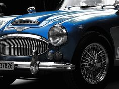 Austin Healey 3000 - The Austin-Healey 3000 is a British sports car built from 1959 to 1967