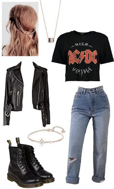 Tumblr Outfits, Hipster Outfits, Retro Outfits, Grunge Outfits, Cute Casual Outfits, Outfits For Teens, Fashion Outfits, Baddie Outfits Party, Sadie Kane
