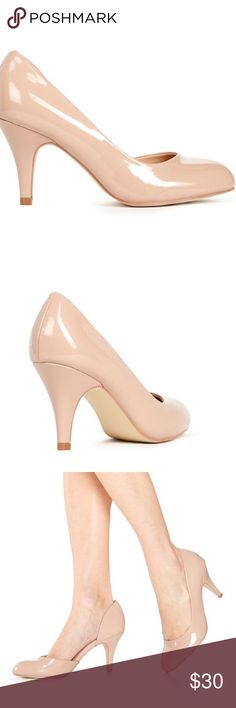 New in Box JustFab BETHA nude pump size 8.5 New in Box JustFab BETHA nude pump size 8.5. Brand-new and never worn. Comes from a smoke free home, ships within one business day, no trades. Thank you! JustFab Shoes Heels