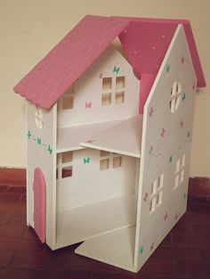 Resultado de imagen para la casa de barbie en madera