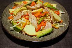 Thai-kyllingesalat med avocado og sesam