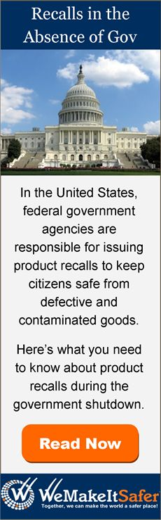 What you need to know about product recalls during the government shutdown.