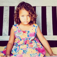 A photo of Model Chrishell Stubbs when she was younger. So adorable!  chrishells:    Baby me :)