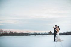 What a magical setting for a winter wedding. #winterwedding #ThePavilion #C.Tysonphtography