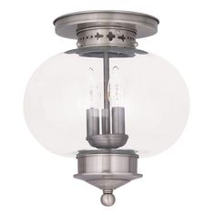 Shop Livex Lighting  5033 3-Light Harbor Flush Mount Ceiling Light at ATG Stores. Browse our flush mount ceiling lights, all with free shipping and best price guaranteed.