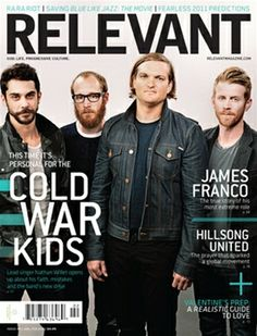January/February 2011 issue of RELEVANT Magazine featuring Cold War Kids, James Franco, Hillsong United and more. Click through to check it out.