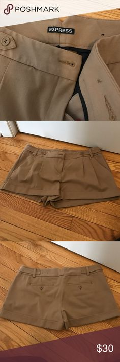 Express shorts 10 Worn once! Great condition express shorts. Can be dressed up or down. Slightly too big for me. Express Shorts