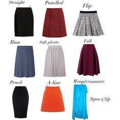 nice Skirts for neat hourglass body shape